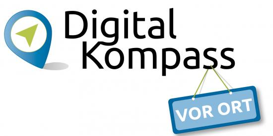Digital-Kompass vor Ort Logo